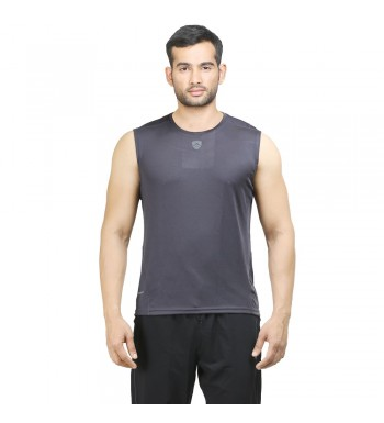 ARMR Mens Charcoal SPORT SLEEVELESS TEE