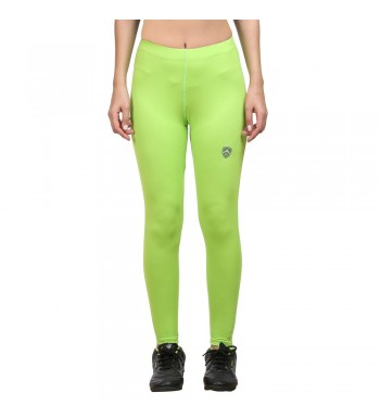 ARMR Women NEON GREEN SKYN Full-length Tights
