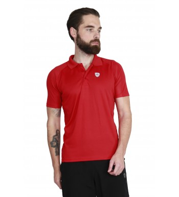 ARMR Men's Tomato SPORT PERFORMANCE POLO