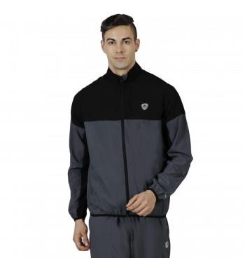 ARMR Mens Graphite/Black SPORT TRAINING JACKET - Square Front