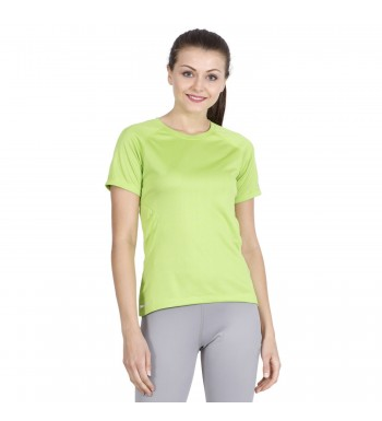 ARMR Women Neon Green SPORT PERFORMANCE TEE