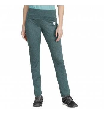 ARMR Women Green Melange SPORT YOGA PANTS