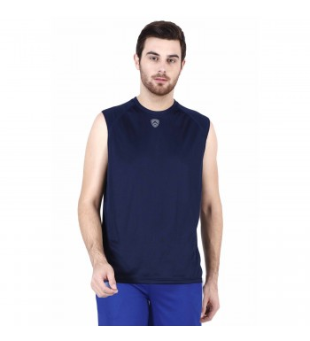 ARMR Mens Navy SPORT SLEEVELESS TEE