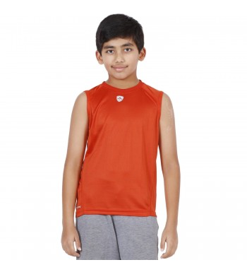 ARMR Junior Rust SPORT SLEEVELESS TEE