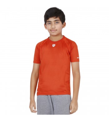 ARMR Junior Rust SPORT CREW NECK TEE