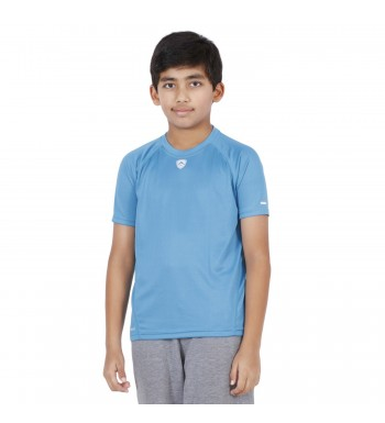 ARMR Junior Sky Blue SPORT CREW NECK TEE