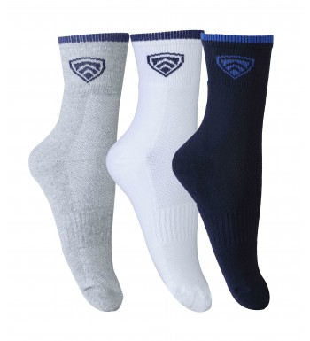 ARMR Unisex 3-PCS PACK SPORT Crew length Socks