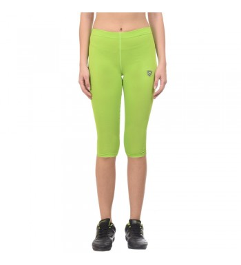 ARMR Women NEON GREEN SKYN 3/4th Capris