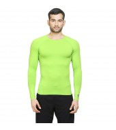 ARMR Unisex NEON GREEN SKYN Full-Sleeve T-shirt