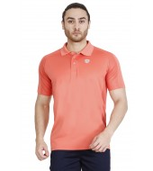 ARMR Men's Living Coral SPORT PERFORMANCE POLO