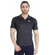 ARMR Men's Charcoal SPORT PERFORMANCE POLO
