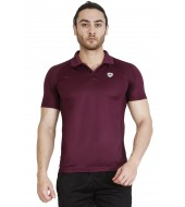 ARMR Men's Grape Wine SPORT PERFORMANCE POLO