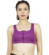 ARMR Women Purple SPORT High-Impact Bra