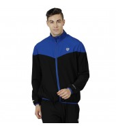 ARMR Mens Black/Blue SPORT TRAINING JACKET - V-Front