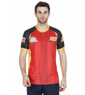 BENGALURU BULLS RED PREMIUM SUBLIMATED REPLICA TEE