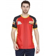 BENGALURU BULLS RED PREMIUM CUSTOM-MADE SUBLIMATED REPLICA TEE