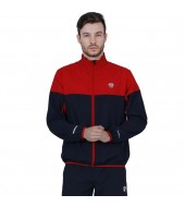 ARMR Mens Navy/Red SPORT TRAINING JACKET - Square Front
