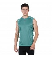 ARMR Men's Emerald/Ecru SPORT PERFORMANCE SINGLET