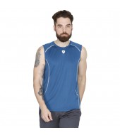 ARMR Men's Teal/Ecru SPORT PERFORMANCE SINGLET