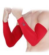 ARMR Unisex Pair of 2 RED SKYN Arm Sleeves