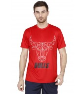 BENGALURU BULLS RED SUPER FAN TEE