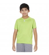 ARMR Junior Neon Green SPORT CREW NECK TEE