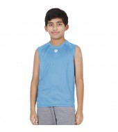 ARMR Junior Sky Blue SPORT SLEEVELESS TEE