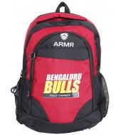BENGALURU BULLS BRANDED BLACK/RED BACK PACK