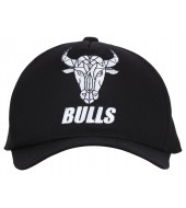 BENGALURU BULLS BRANDED BLACK FAN CAP