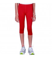 ARMR Junior Women RED SKYN 3/4th Capris