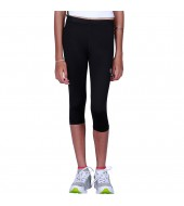 ARMR Junior Women BLACK SKYN 3/4th Capris