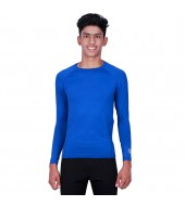 ARMR Junior Unisex ROYAL BLUE SKYN Full-Sleeve T-shirt