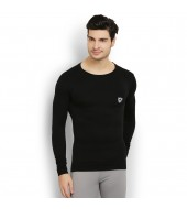 ARMR Unisex BLACK AIRE-PRO Full-Sleeve Seamless T-shirt