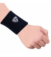 ARMR Unisex Pair of NAVY SPORT SWEATBAND Regular 3""