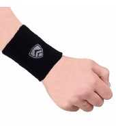 ARMR Unisex Pair of BLACK SPORT SWEATBAND Regular 3""