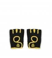 ARMR Unisex BLACK/YELLOW SPORT Adjustable GLOVES